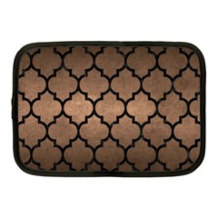 Tile1 Black Marble & Bronze Metal (r) Netbook Case (medium) by trendistuff