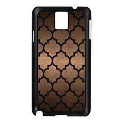 Tile1 Black Marble & Bronze Metal (r) Samsung Galaxy Note 3 N9005 Case (black) by trendistuff