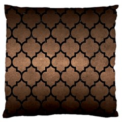 Tile1 Black Marble & Bronze Metal (r) Standard Flano Cushion Case (two Sides) by trendistuff