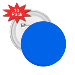 Azure 2 25  Buttons (10 Pack)
