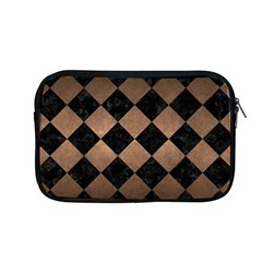 Square2 Black Marble & Bronze Metal Apple Macbook Pro 13  Zipper Case by trendistuff
