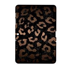 Skin5 Black Marble & Bronze Metal (r) Samsung Galaxy Tab 2 (10 1 ) P5100 Hardshell Case  by trendistuff