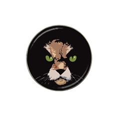 Cat  Hat Clip Ball Marker by Valentinaart