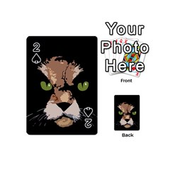 Cat  Playing Cards 54 (mini)  by Valentinaart