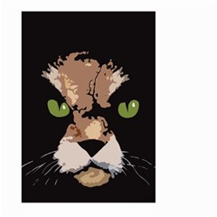 Cat  Large Garden Flag (two Sides) by Valentinaart