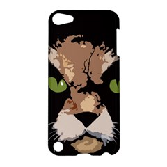 Cat  Apple Ipod Touch 5 Hardshell Case by Valentinaart