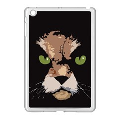 Cat  Apple Ipad Mini Case (white) by Valentinaart