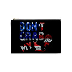 Dont Grab My Cosmetic Bag (medium)  by Valentinaart