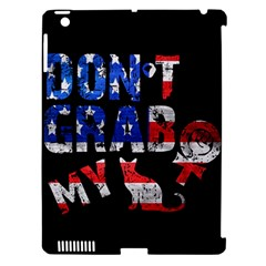 Dont Grab My Apple Ipad 3/4 Hardshell Case (compatible With Smart Cover) by Valentinaart