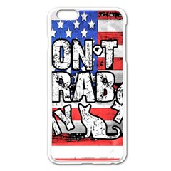 Dont Grab My Apple Iphone 6 Plus/6s Plus Enamel White Case by Valentinaart