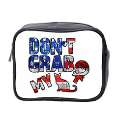 Dont Grab My Mini Toiletries Bag 2 Side by Valentinaart
