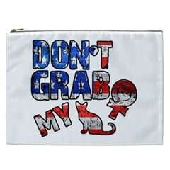 Dont Grab My Cosmetic Bag (xxl)  by Valentinaart
