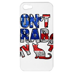 Dont Grab My Apple Iphone 5 Hardshell Case by Valentinaart