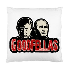 Goodfellas Putin And Trump Standard Cushion Case (one Side) by Valentinaart
