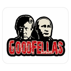 Goodfellas Putin And Trump Double Sided Flano Blanket (small)  by Valentinaart