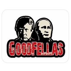 Goodfellas Putin And Trump Double Sided Flano Blanket (medium)  by Valentinaart