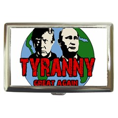 Make Tyranny Great Again Cigarette Money Cases by Valentinaart