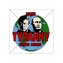 Make Tyranny Great Again Acrylic Tangram Puzzle (4  X 4 ) by Valentinaart