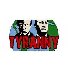 Make Tyranny Great Again Satin Wrap by Valentinaart