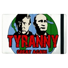 Make Tyranny Great Again Apple Ipad Pro 12 9   Flip Case by Valentinaart