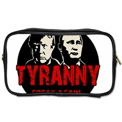 Make Tyranny Great Again Toiletries Bags by Valentinaart