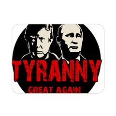 Make Tyranny Great Again Double Sided Flano Blanket (mini)  by Valentinaart
