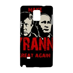 Make Tyranny Great Again Samsung Galaxy Note 4 Hardshell Case by Valentinaart