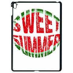Watermelon   Sweet Summer Apple Ipad Pro 9 7   Black Seamless Case by Valentinaart