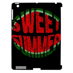 Watermelon   Sweet Summer Apple Ipad 3/4 Hardshell Case (compatible With Smart Cover) by Valentinaart