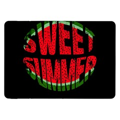 Watermelon   Sweet Summer Samsung Galaxy Tab 8 9  P7300 Flip Case by Valentinaart