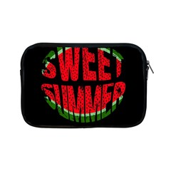 Watermelon   Sweet Summer Apple Ipad Mini Zipper Cases by Valentinaart
