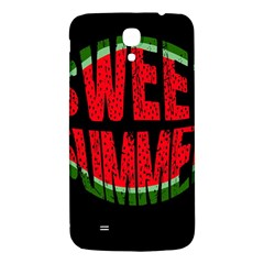 Watermelon   Sweet Summer Samsung Galaxy Mega I9200 Hardshell Back Case by Valentinaart