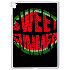 Watermelon   Sweet Summer Apple Ipad Pro 9 7   White Seamless Case by Valentinaart