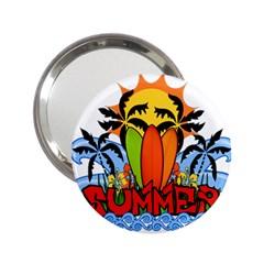 Tropical Summer 2 25  Handbag Mirrors by Valentinaart