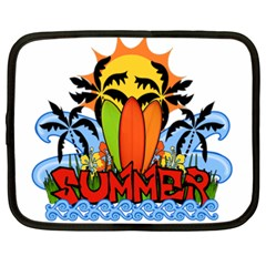 Tropical Summer Netbook Case (xxl)  by Valentinaart