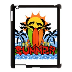 Tropical Summer Apple Ipad 3/4 Case (black) by Valentinaart