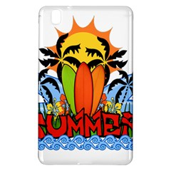 Tropical Summer Samsung Galaxy Tab Pro 8 4 Hardshell Case by Valentinaart