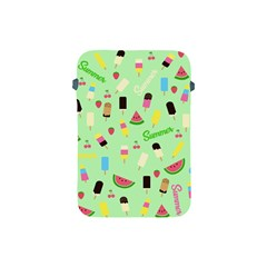 Summer Pattern Apple Ipad Mini Protective Soft Cases by Valentinaart