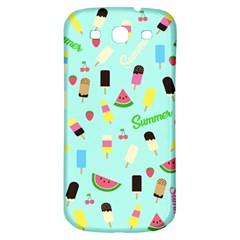 Summer Pattern Samsung Galaxy S3 S Iii Classic Hardshell Back Case by Valentinaart