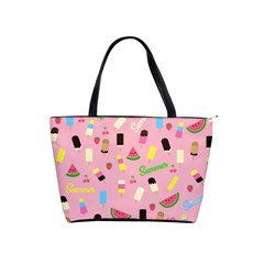 Summer Pattern Shoulder Handbags by Valentinaart