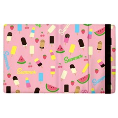 Summer Pattern Apple Ipad Pro 9 7   Flip Case by Valentinaart
