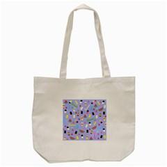 Summer Pattern Tote Bag (cream) by Valentinaart