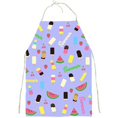 Summer Pattern Full Print Aprons by Valentinaart