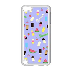 Summer Pattern Apple Ipod Touch 5 Case (white) by Valentinaart