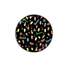 Summer Pattern Hat Clip Ball Marker by Valentinaart