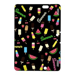 Summer Pattern Kindle Fire Hdx 8 9  Hardshell Case by Valentinaart