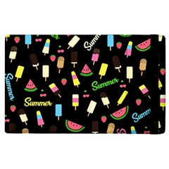 Summer Pattern Apple Ipad Pro 12 9   Flip Case by Valentinaart