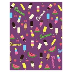 Summer Pattern Drawstring Bag (large) by Valentinaart