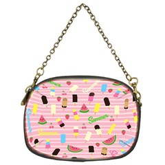 Summer Pattern Chain Purses (one Side)  by Valentinaart