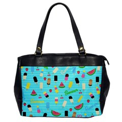 Summer Pattern Office Handbags by Valentinaart